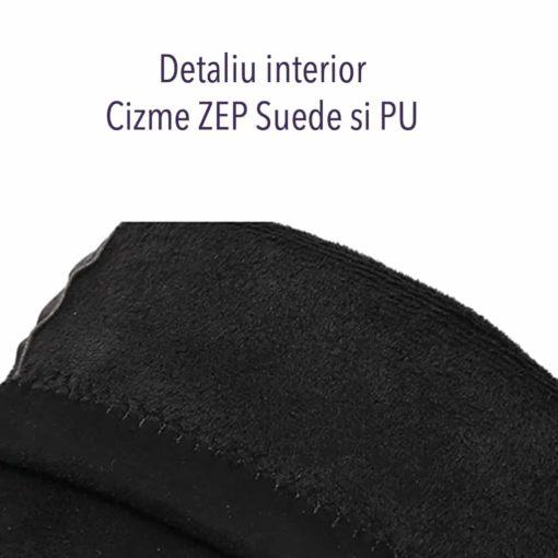 Detaliu interior cizme ZEP