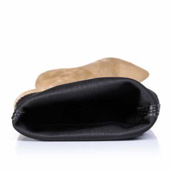 Detaliu interior cizme bej Blade