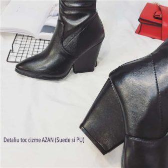 Detaliu toc cizme elastice AZZAN