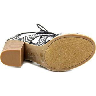 Sandale cu toc INDIGO - vedere talpa