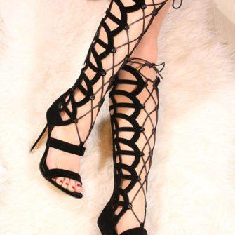 Sandale romane cu siret LaferS