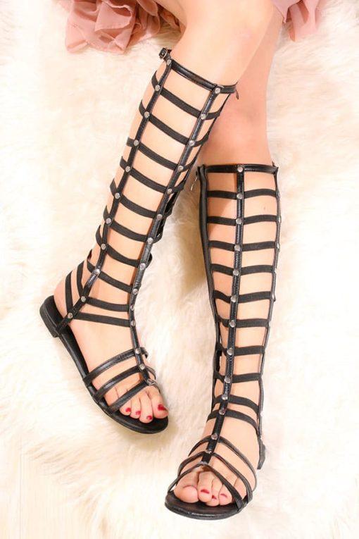 Sandale romane lungi elastice Shoe fever