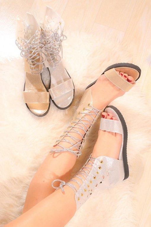 Sandale talpa joasa Shine