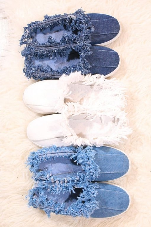 Shoe fever papuci Denim
