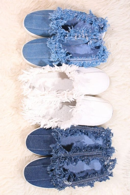 Shoe fever papuci dama Denim