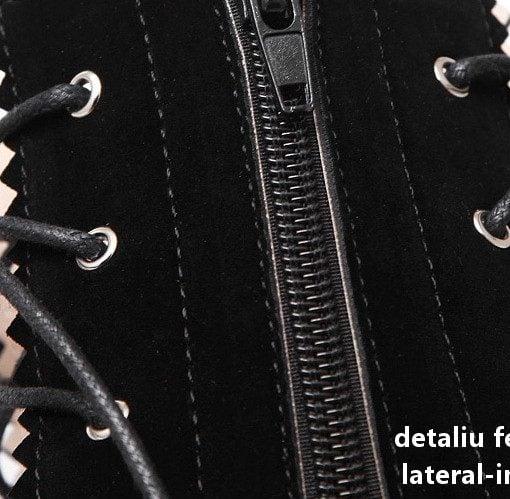 detaliu fermoar lateral interior