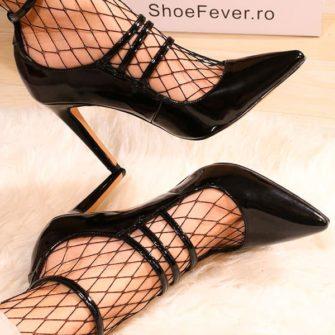 pantofi cu toc inalt JaspalNegru