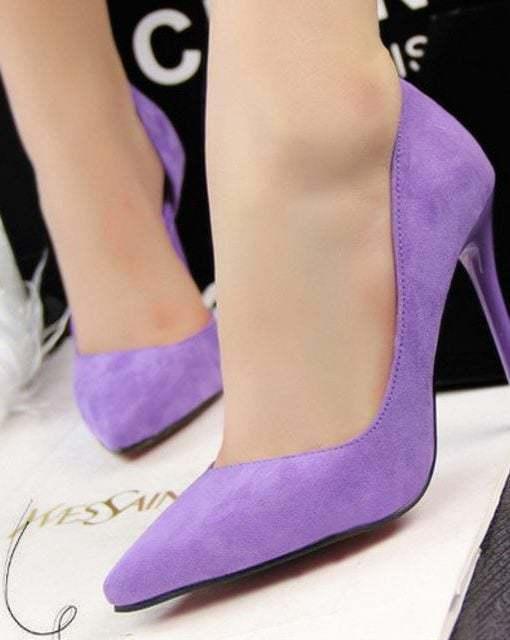pantofi lila
