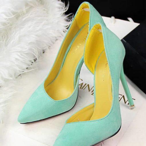 pantofi stiletto decupati