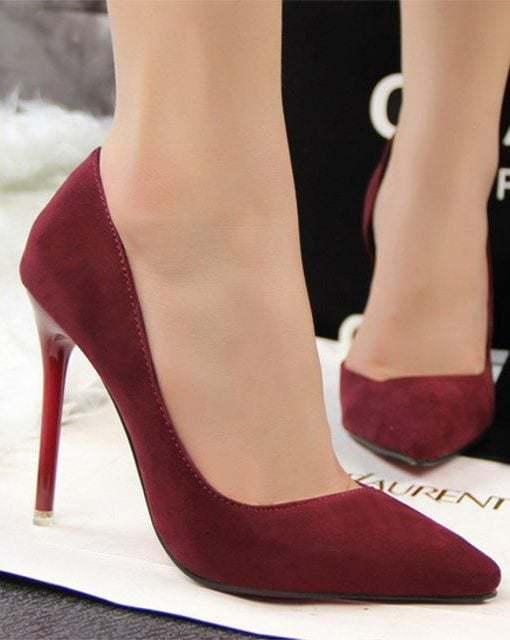 pantofi stiletto grena