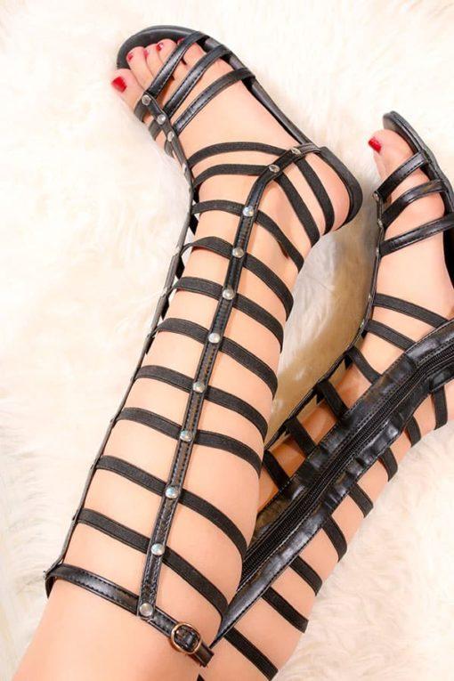 Sandale romane inalte; Sandale Gladiator